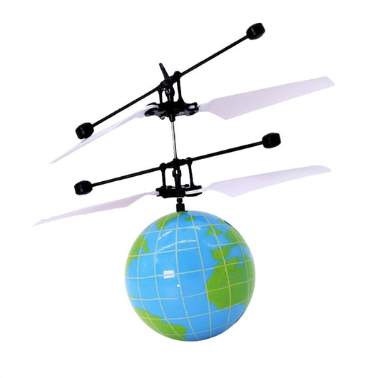 Flying Ball RC Infrared Induction Helicopter Ball Built-in Shinning Color Changing LED Lighting Without Remote Control for Kids Children