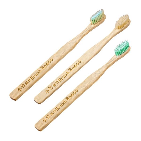 Natural Bamboo Toothbrush Ultra Soft Bristle Wooden Handle Brush Oral Care Brushing Whitening Teeth Brush For Family Adult