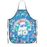Cat Pattern Sleeveless Aprons Polyester Waterproof Women and Men Dinner Party Kitchen Cooking Apron