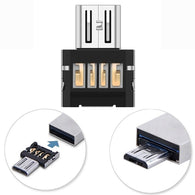 Mini USB 2.0 Micro USB OTG Converter Adapter Cellphone TO US