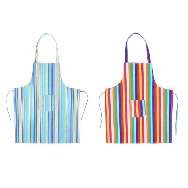 Strip Sleeveless Kitchen Apron Adult Anti-Oil Kitchen Cooking Anti-Dirty Dress Restaurant Household Cleaning Apron