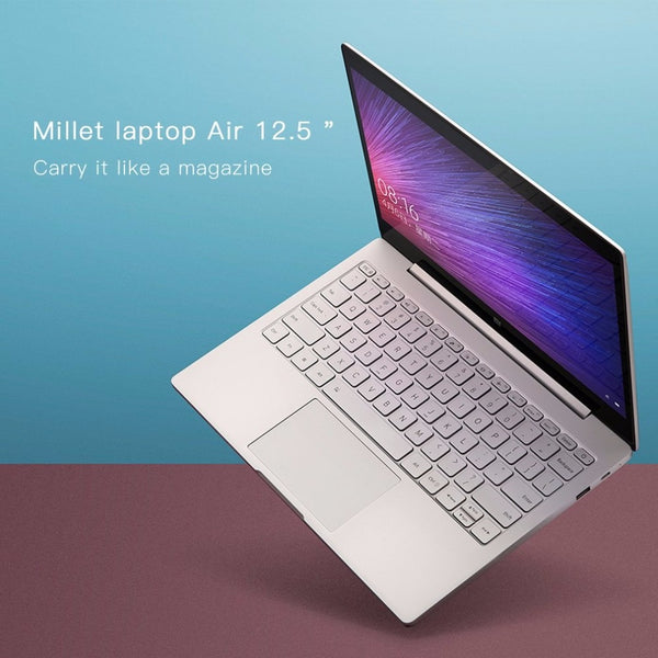 Xiaomi Laptop Notebook Air HD 12.5 inch Intel CoreM-7Y30 Dual Core 4GB RAM 128GB SSD for Windows10 with M3 Processor