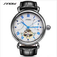 Sinobi Skeleton Watch Luxury Sapphire Crystal Machinery Men'S Watches