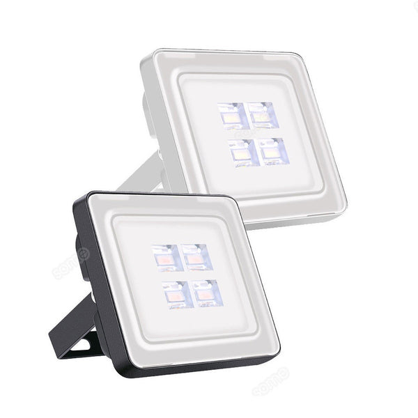 10W--200W SMD LED Flood Light IP67 Waterproof Cool Warm White Outdoor Path Spot Floodlight (EU:AC220V,US:AC110V)
