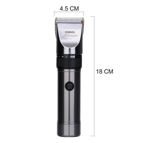 Riwa High Quality Hair clipper Titanium ceramic blade Professional haircutting machine for shaving Beard trimmer for Adult Kid42