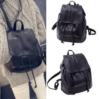 Fashion Women Leather Satchel Shoulder Backpack School Rucksack Bags Travel