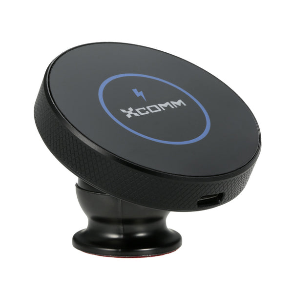 Xcomm Wireless Car Charger Wireless Charger Car Mount with 2 in 1 Function Air Vent Phone Holder