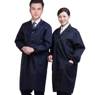 Spring Autumn Men Women Jacket Long Sleeve Pockets Uniform Coat Coveralls Dustproof Worker Clothes H9
