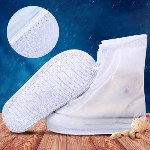 Waterproof Rain Shoes Covers Women Men Kids Thicken Sole Slip