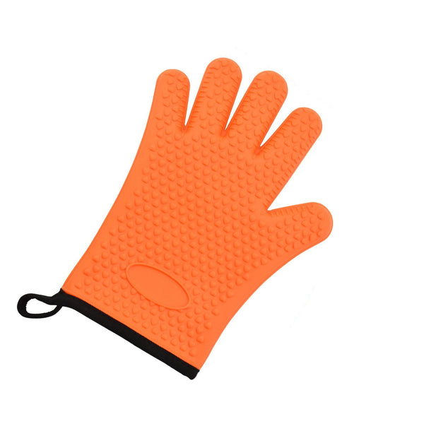 Grilling Glove-Heat Resistant Glove BBQ Kitchen Silicone Oven Mitts