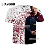 LIASOSO NEW Movie Avengers 3 Infinity War Superhero Doctor Strange Hulk Tee 3D Print T shirt/Hoodie/Sweatshirt Unisex Tops G594