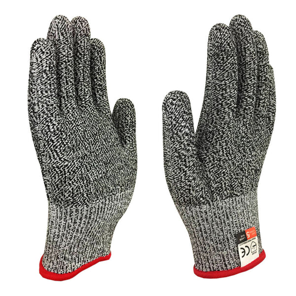 Anti-cut Gloves Food Grade Kitchen Glove for Hand Protection Level 5 Protection Stretchy Safety Gloves