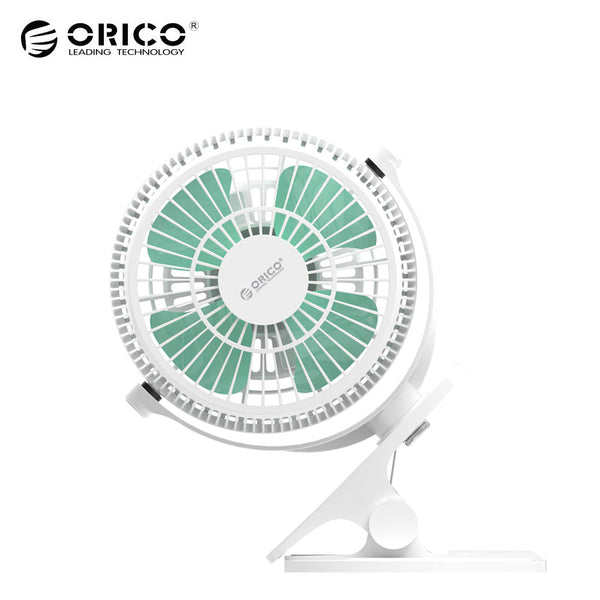 ORICO  USB Fan Mini Flexible Cool Adjustable Angle Cooling Fan VentilateElectrical Fan with Key Switch Angle adjustable White
