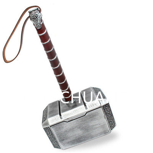 Avengers:Infinity War Superhero Thor Weapons 1:1 Thor's Hammer And Resin Aboutsledge Base Props Action Figure Collection G883