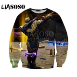 LIASOSO NEW Game Fortnite Avengers Infinity War Thanos 3D Print t  shirt/Hoodie/Sweatshirt Unisex Funny Good Quality Tops G1184