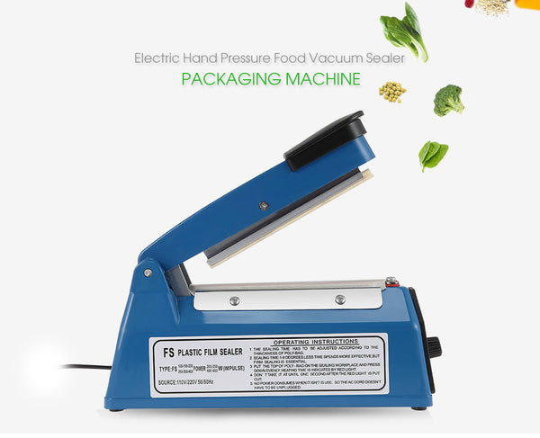 Electric Vacuum Food Sealer Automatic Portable Household Food Vacuum Heat Sealer Packaging Machine Plastic Bag Mini Sealing Tool
