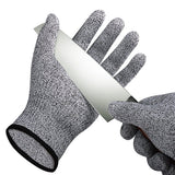 New And Hot A Pair Cut Resistant Gloves Food Grade Level 5 Protection Working Cutting HPPE Material high quality #ZJ