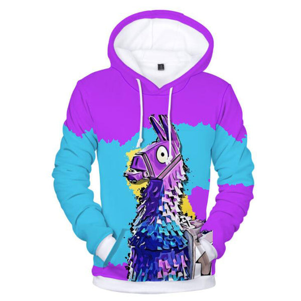 Fortnite Battle Royale 3D Printed Mens Hoodies and Sweatshirts Plus Size Fornite Game Hip Hop Funny Hooded Jacket Male Tracksuit