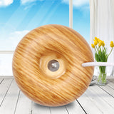 KBAYBO USB Mini air diffuser Air Humidifier Aroma Diffuser Steam Donuts Purifier portable For Office Home