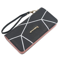 2018 New Ladies Fashion Long Wallet Zipper Women Purse Handbag