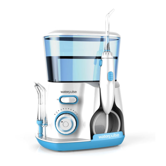 Waterpulse V300G 100-240V Oral Irrigator Water Jet Pick Dental Floss Teeth Flosser Hydro Set 800ML Capacity Teeth Whitening