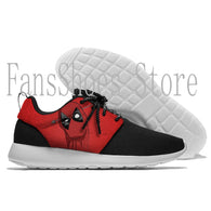 Dead Pool Anime LOW Running Shoes Lace Up Mesh Upper Sport Shoes Outdoor Activities Athletic Shoes Comfortable Sneakers