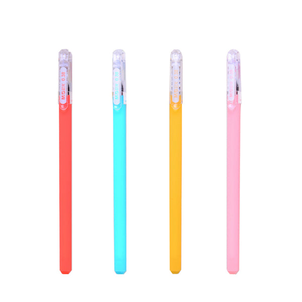 Cute Kawaii Candy Color Novelty 0.38mm M&G Black Ink Gel Pens Writing Japanese Korean School Supplies Stationery