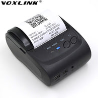 5PCS 58mm Portable Bluetooth Thermal Printer Mini Thermal Printer Receipt  for  Windows/IOS /Android Phone Printer_DHL