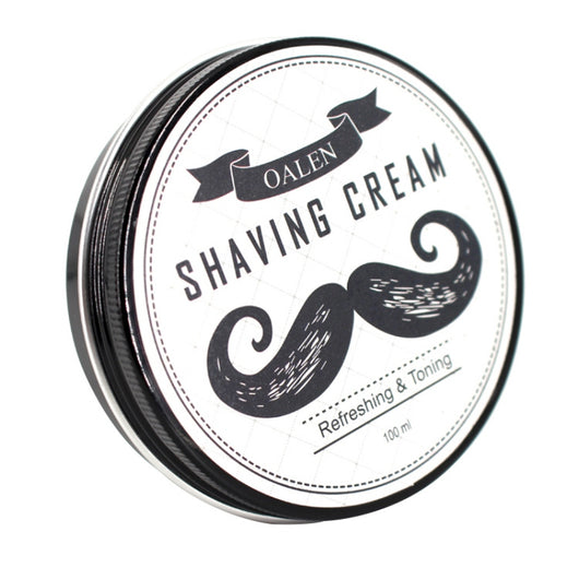 2018 New 100% Natural Beard Care Shaving Cream Smooth Shaving Cream New