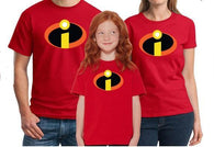 The Incredibles Symbol Youth T-Shirt The Incredibles Logo T-Shirt boys clothing kids clothes boys t shirts summer Incredibles 2