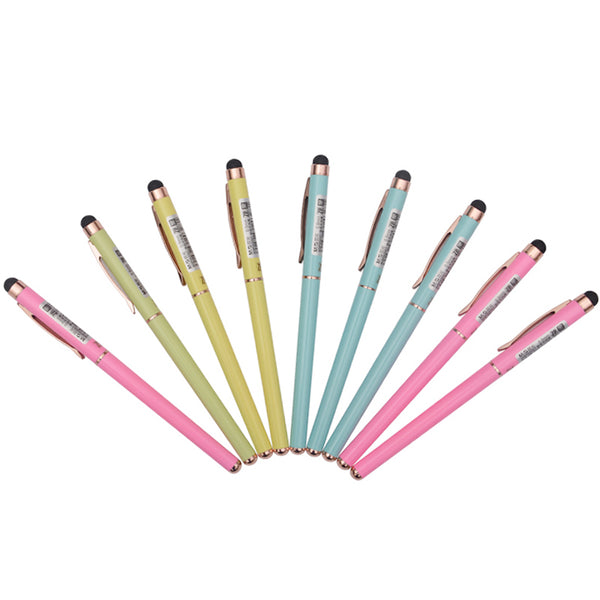 Capacitive Touch Perfect for PDA 0.5mm M&g Kawaii Office And School Supplies School Supplies Metal Black Core Gel Pen
