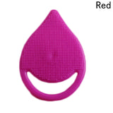 1pcs Face Cleaning Brush Pad Wash Facial Exfoliating Brush Spa Skin Scrub Cleanser Tool Silicone Random Sending Makeup Tool