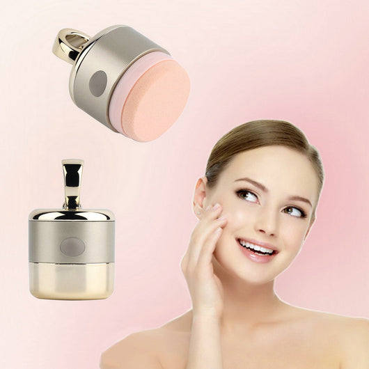 wholesale 3D Electric Smart Foundation Face Powder Vibrator Puff Sponge Cosmetic Beauty Spa Tool Top Sale
