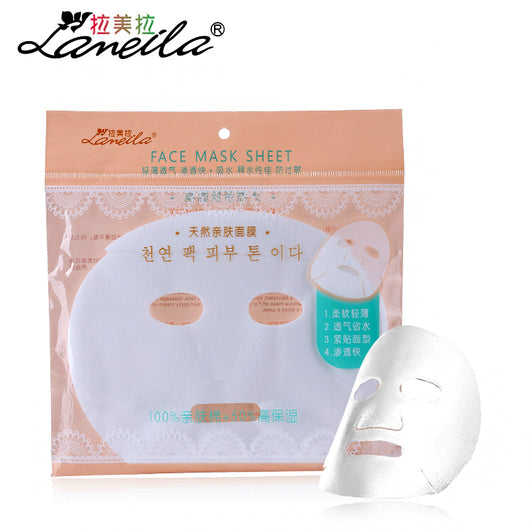 LAMEILA 30pcs face diy mask compressed mask sheet homemade dry cotton skin facial care paper breathable cosmetic beauty spa tool