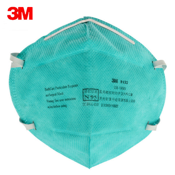 5pc 3M 9132 Surgical Masks Anti Particulate Influenza Virus N95 Dust Mask hospital CDC Dust Masks Particles Medical Particulate