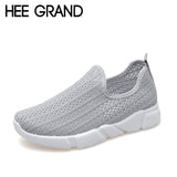 HEE GRAND 2018 Women Mesh Vamp Breathing Flats Hollow Out Women Flats Super Light Casual Spring Summer Shoes Candy Color XWD6699