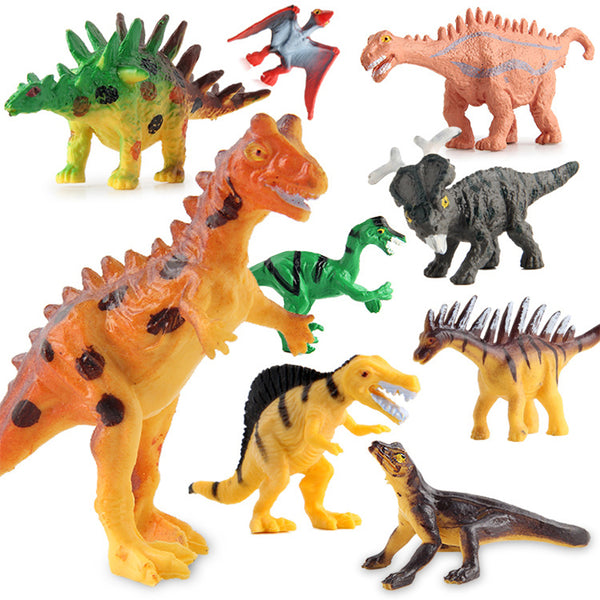 Action&Toy Figures Jurassic World Sets Tyrannosaurus Dragon Dinosaur Toy Plastic Dolls Animal Collectible Model Furnish Toy Gift