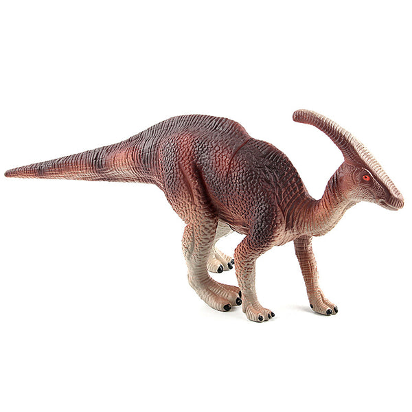 2 Colors Jurassic Dino World Parasaurolophus model figure teaching Collection Children's birthday Gift model toys
