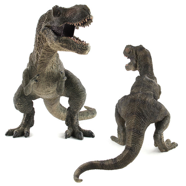 2 Colors Jurassic Dino World Tyrannosaurus model figure teaching Collection Gift model toys