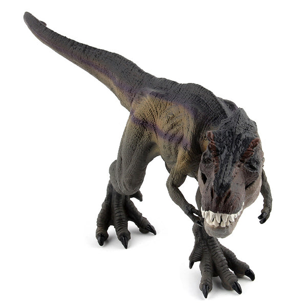 2 Colors Jurassic Dino World Walk the tyrannosaurus Solid model figure teaching Collection Children's birthday Gift model toys