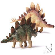 Jurassic World Park Dinosaur Plastic Toy 2 Colors Model Stegosaurus Figure Collection Triceratop Christmas For Kids Gift