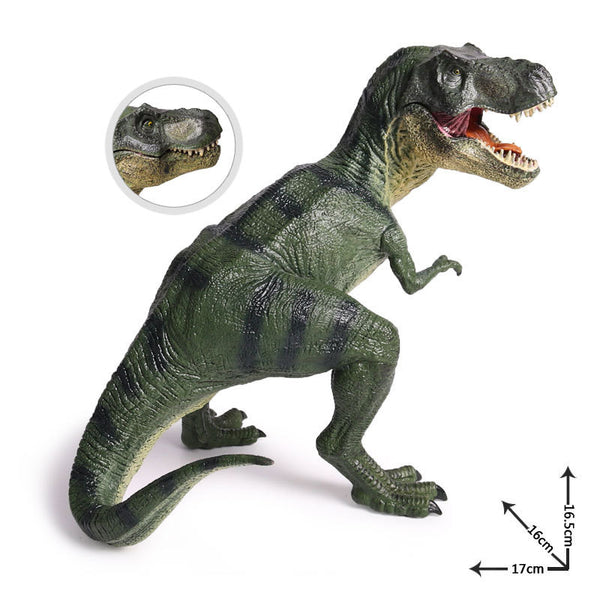 Jurassic World Park Dinosaur Plastic Toy 2 Colors Model Collection Tyrannosaurs.Rex 17CM Figure Merry Christmas Gift For Kids