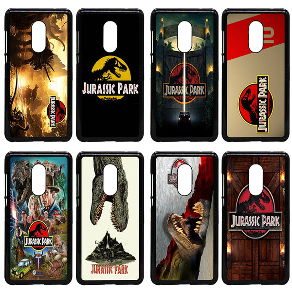 For Xiaomi Redmi 3X Mi 6 5 5S Plus Note 4X 2 3 3S 4 Pro Prime Cell Phone Case Jurassic Park Dinosaur World Hard PC Plastic Cover