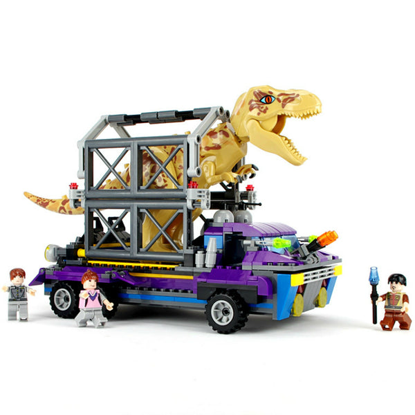 Jurassic World 2 Legoings Dinosaur Building Blocks Tyrannosaurus Dinosaur Figures Assemble Classic Compatible 75927 31058 75919
