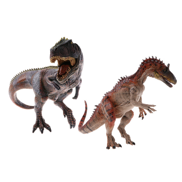 2 Pieces Simulation Jurassic World Animal Dinosaur Model Action Figures Kids Educational Toy Gifts