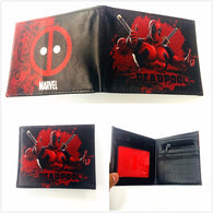 New Designs Deadpool Wallets Cartoon Anime Dead Pool bag Purse Fold Card Holder Short Wallet XY0029