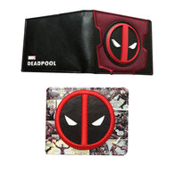 Dead pool Suit Up Metal Badge Logo Bi-Fold Wallet 3D movie man wallet cardholder 2 style men's short wallet