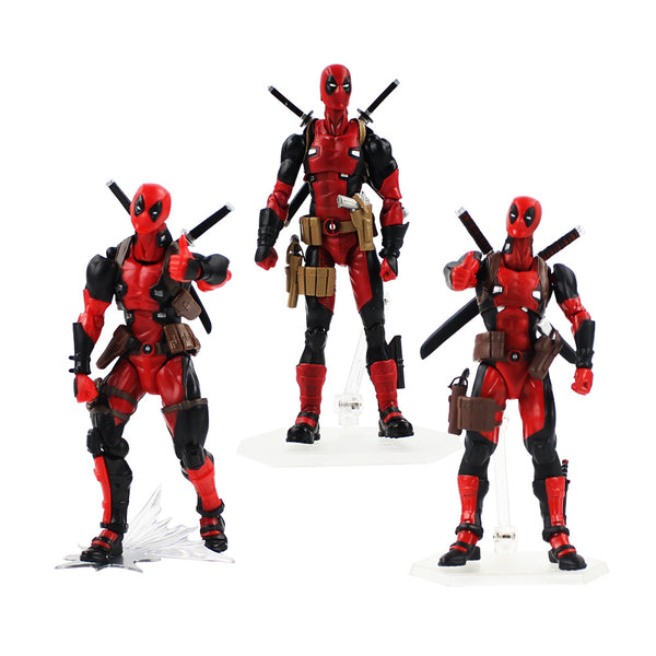 3styles 14-18cm Deadpool Figure Toys Super Hero Dead Pool X-Man PVC Action Figure Model Toys Boxed For Gifts