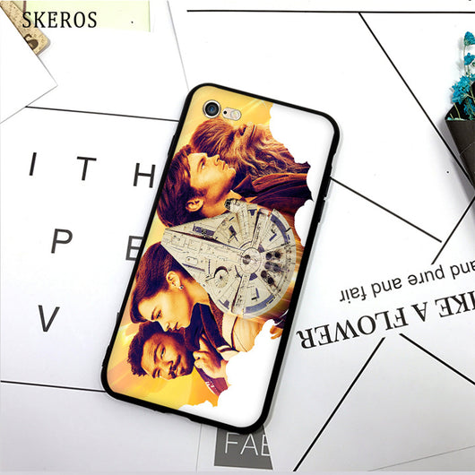 SKEROS solo a star wars story (11) TPU Phone Case Soft Cover For X 5 5S Se 6 6S 7 8 6 Plus 6S Plus 7 Plus 8 Plus #da403