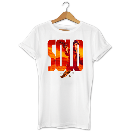 Solo A Star Wars Story Han Solo Mens Womans T-Shirt Top Chewbacca S-3XL  Short Sleeve O-Neck Cotton T Shirt Hipster